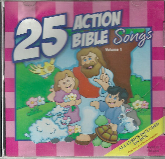 25 Action Bible Songs Volume 1