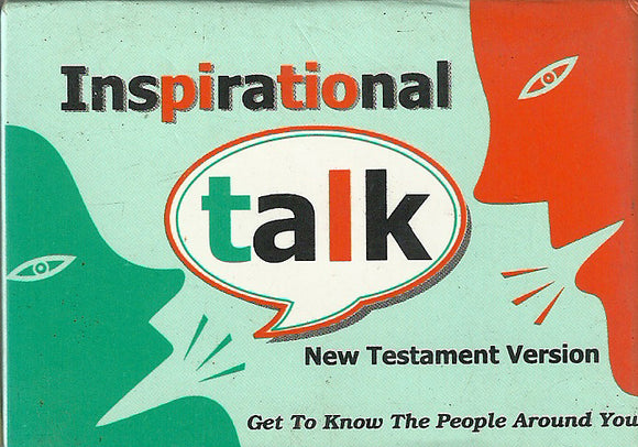 Inspirational Talk New Testament