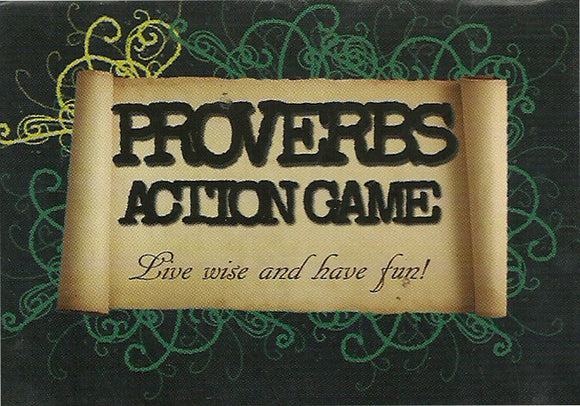 Proverbs Action Game