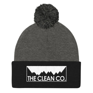 The Clean Company Embroidered Beanie