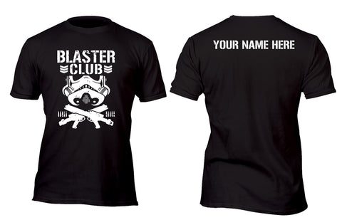 Personalized Stormtrooper Blaster Bullet Club Custom Movie T-Shirt