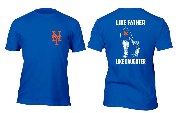 Like Father Like Daughter New York Sports T-Shirt