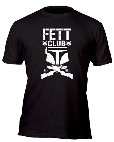 Fett Bullet Club Custom Movie T-Shirt