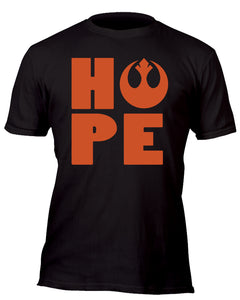 Hope With the Rebellion Custom Movie T-Shirt