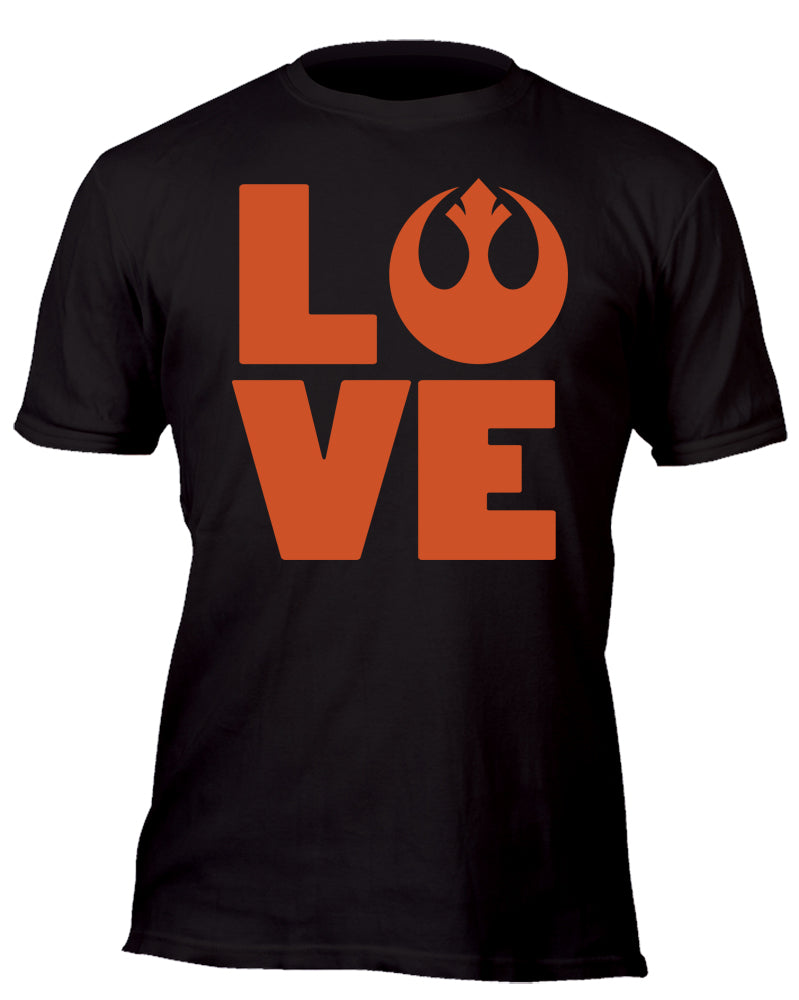Love the Rebel Custom Movie T-Shirt