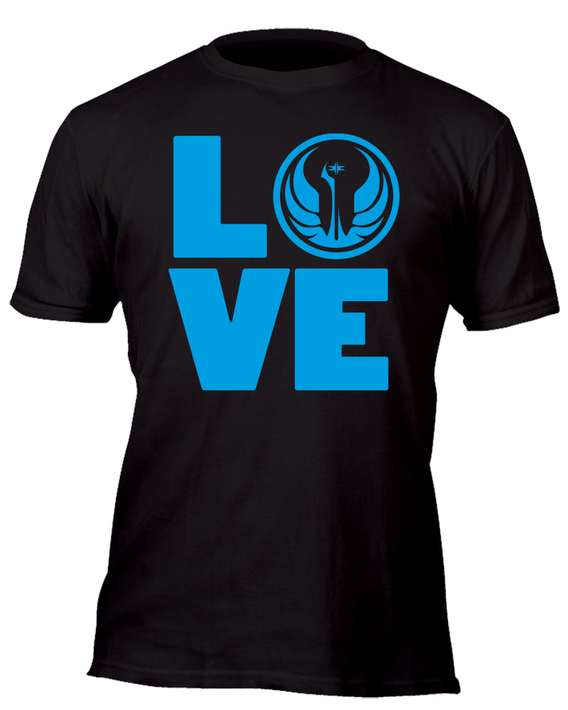 Love the Jedi Order Custom Movie T-Shirt