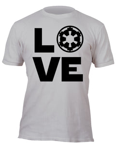 Love the Empire Silver Custom Movie T-Shirt