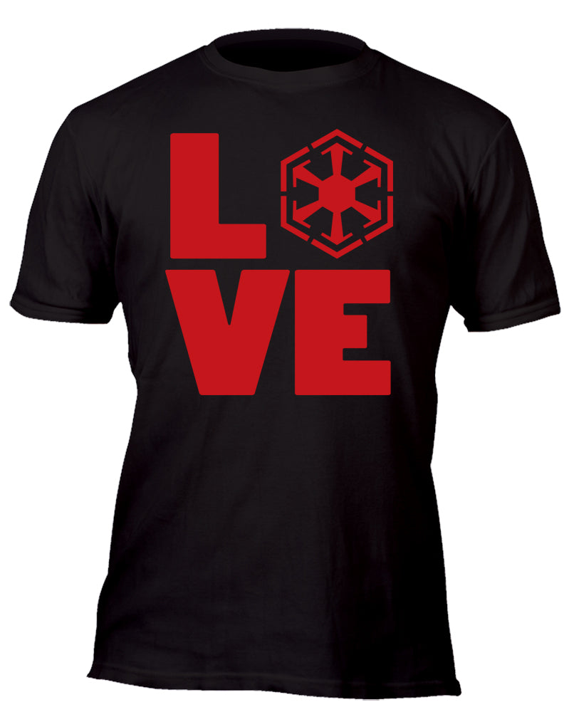 Love the Sith Custom Movie T-Shirt