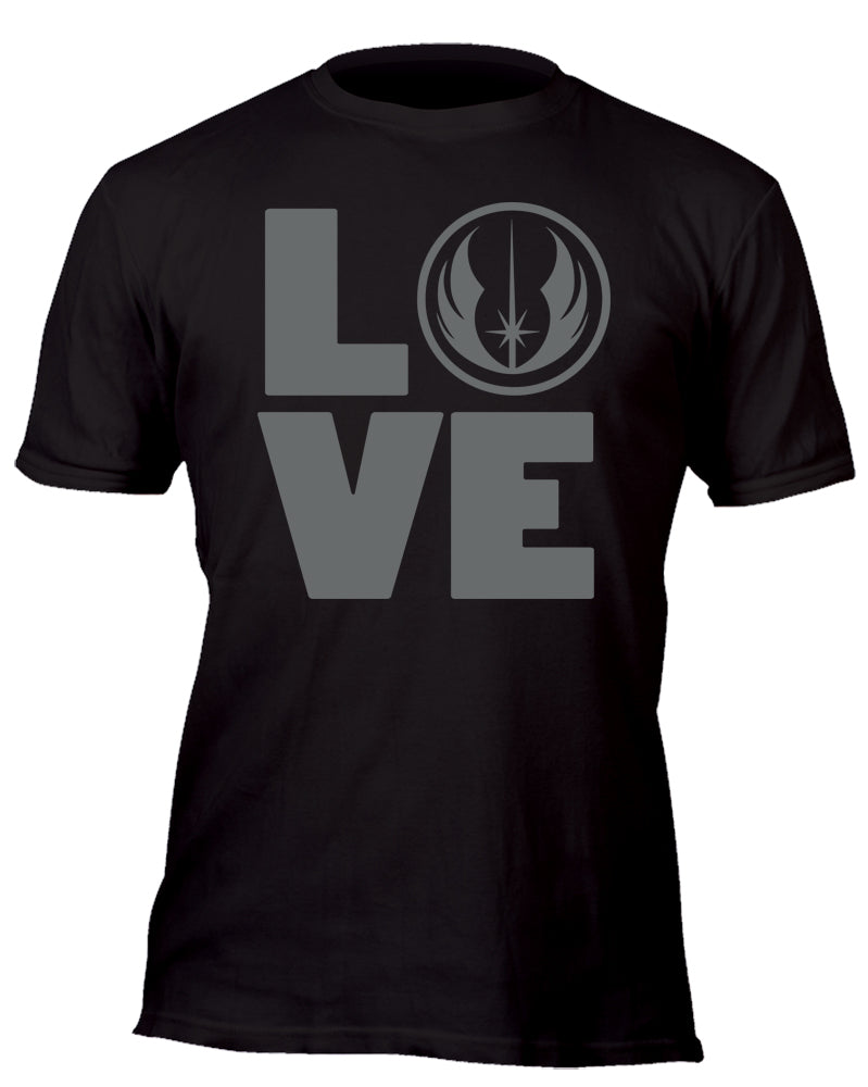 Love the Jedi Custom Movie T-Shirt