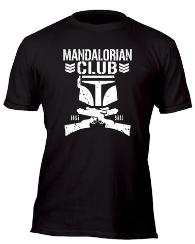 Mandalorian Bullet Club Custom Movie T-Shirt