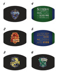 Character Movie Potter Houses Custom Photo Face Mask with 2 Filters * Adjustable *Washable * Free Shipping * Best Value