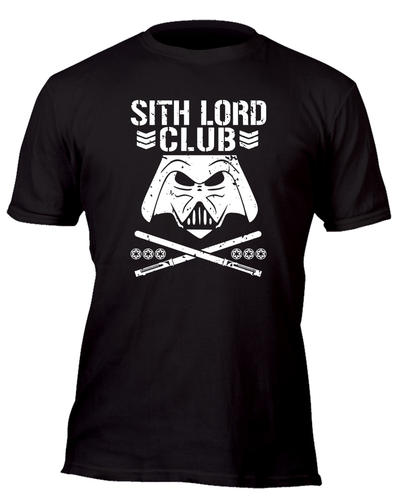 Sith Lord Bullet Club Custom Movie T-Shirt