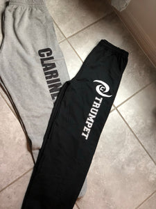Personalized Black CHS Sound of the Storm Sweatpants