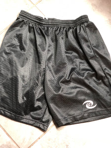 Black Mesh CHS Athletic Shorts