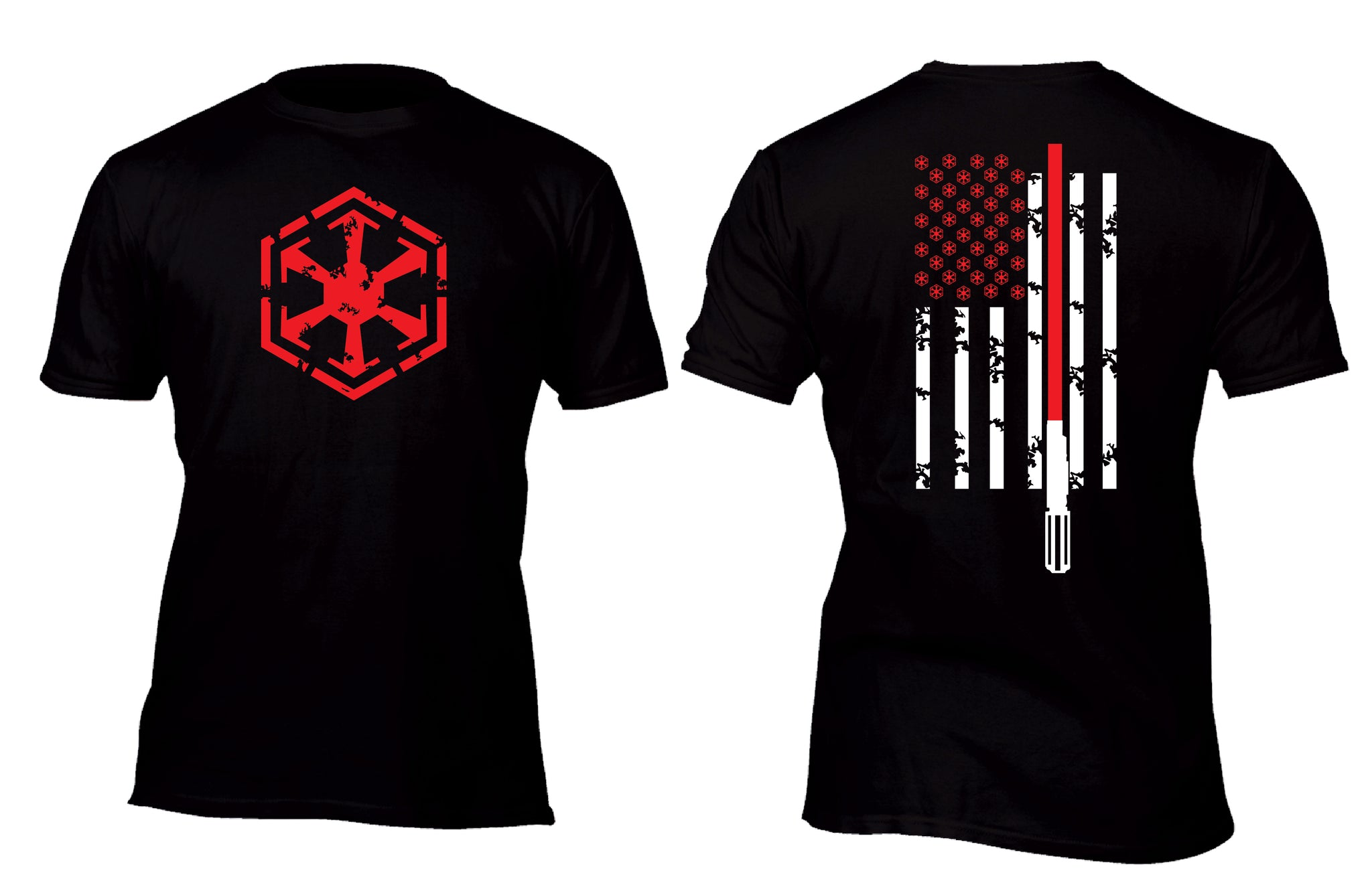 Sith Flag Swag Custom Movie T-Shirt