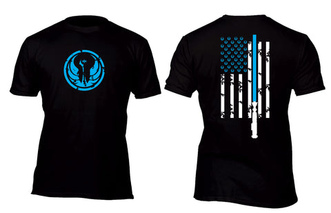 Jedi Flag Swag Custom Movie T-Shirt