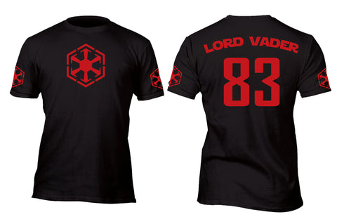 Lord Vader 83 Baseball Style Jersey Custom Movie T-Shirt