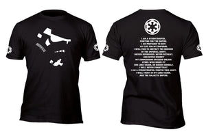 Stormtrooper Code Custom Movie T-Shirt