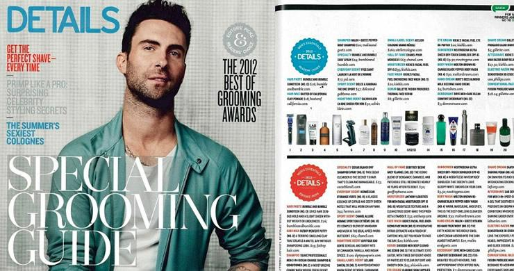 Details Magazine Mens Grooming Awards Malin+Goetz Shampoo Readers Choice