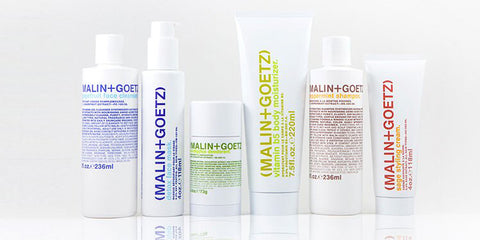 Malin+Goetz best sellers at Beauty Emporium