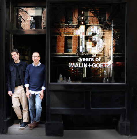 Malin+Goetz founders - Matthew Malin and Andrew Goetz