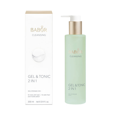 Babor Cleansing Gel & Tonic 2 in 1 with box