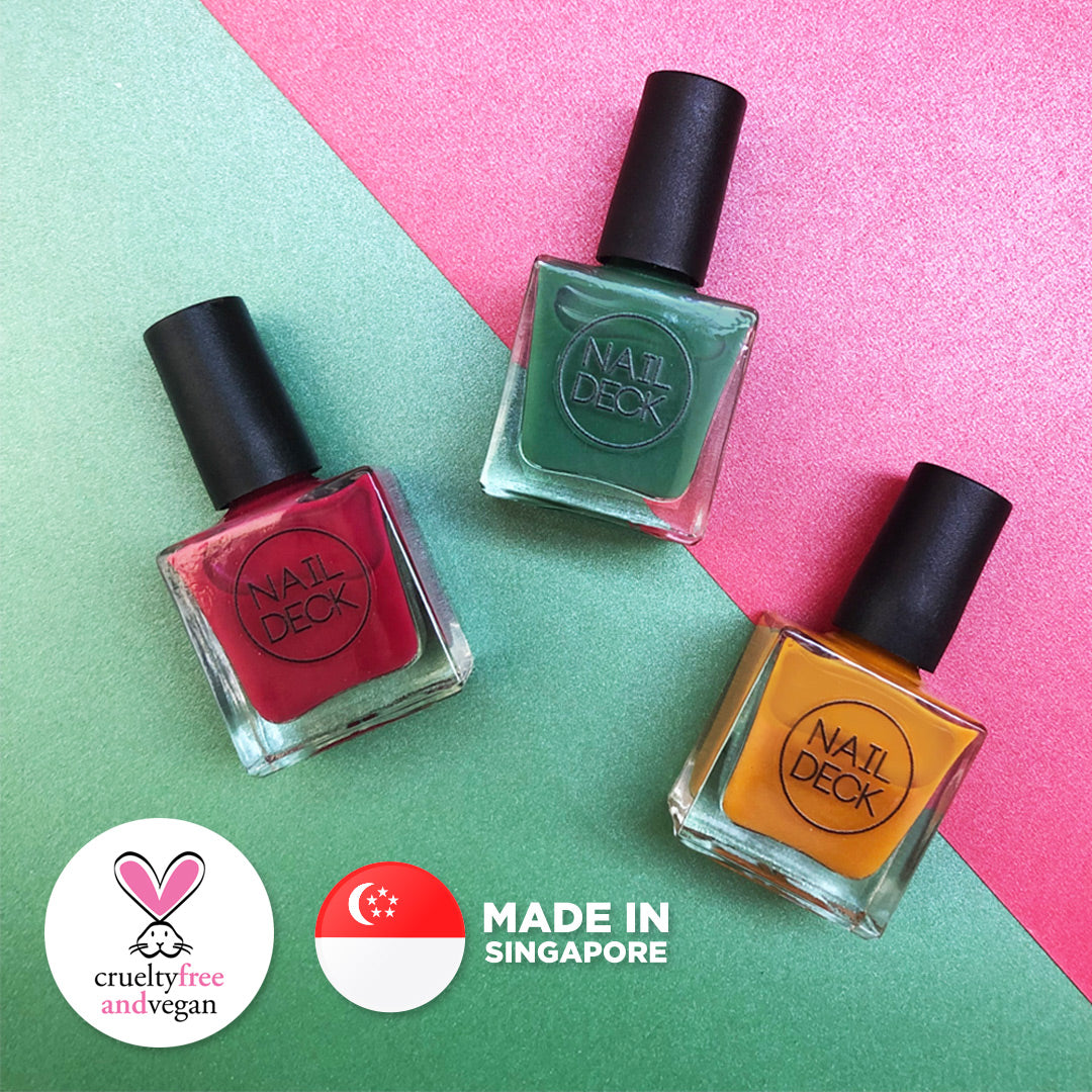 Satay Nail Polish - Hawker Culture Collection