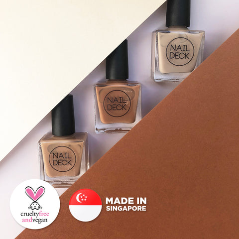 Teh Tarik Nail Polish Set - Hawker Culture Collection