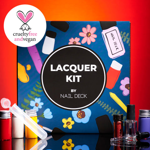 Nail Lacquer Kit by Nail Deck Nail Polish Nail Deck - Beauty Emporium