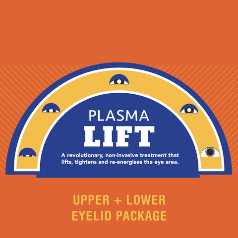 Browhaus Plasma Lift Upper & Lower Eyelid (8 Sessions Service Package)
