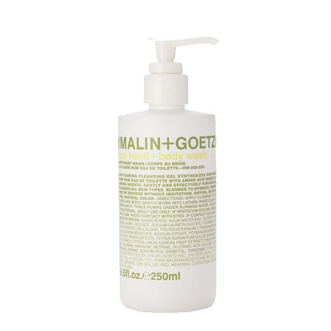 Malin + Goetz Rum Hand + Body Wash Hand Wash Malin+Goetz - Beauty Emporium