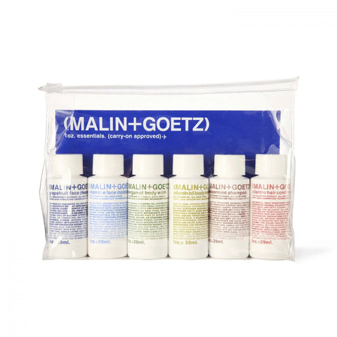 Malin+Goetz Essentials Kit - Face, Body and Hair