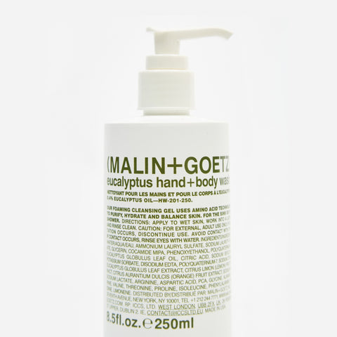 Malin+Goetz Eucalyptus Hand and Body Wash Shower Gel 2