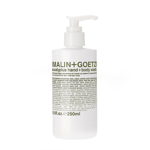 Malin+Goetz Eucalyptus Hand and Body Wash Shower Gel