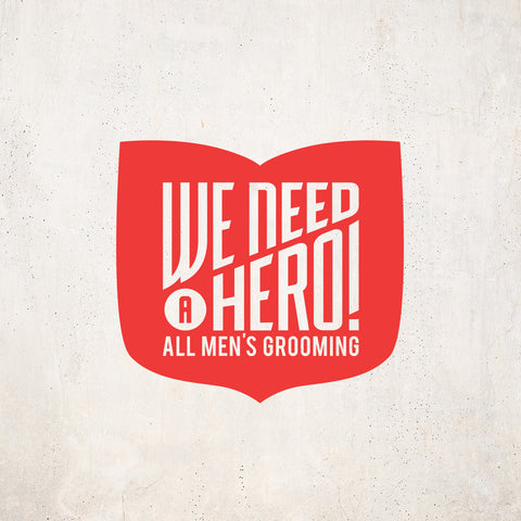We Need A Hero Logo