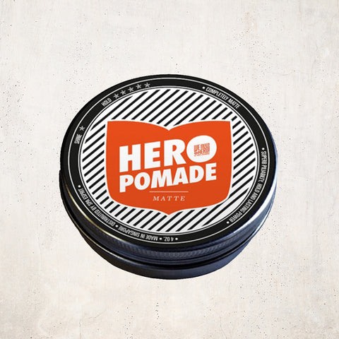 Hero Hair Pomade - Matte Hair Styling Products We Need A Hero - Beauty Emporium