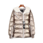 New Woman's Winter High Fashion Trendy Design