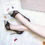 Summer Mesh Party Wedding Stiletto Shoes