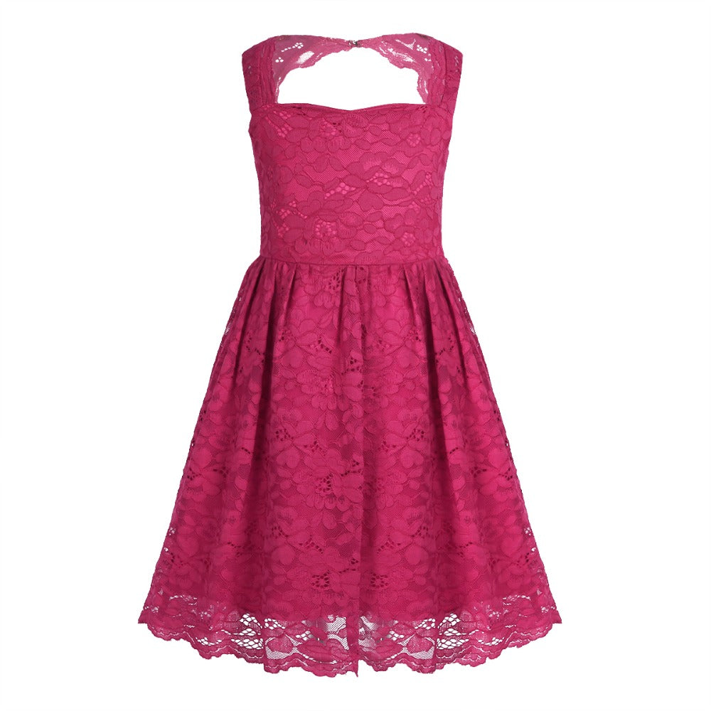 Tuelle Lace Dress
