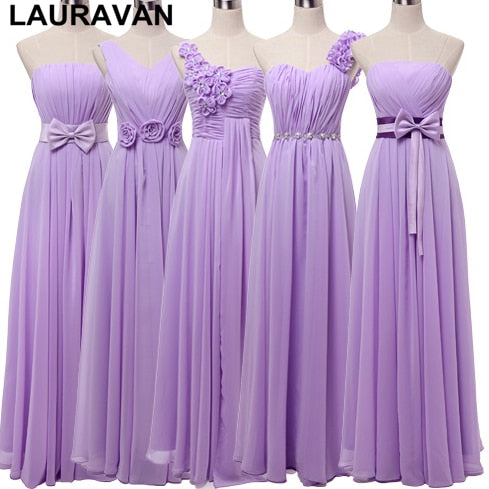 Women plus size bridesmaid dress