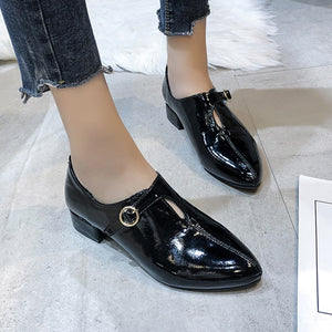 Women Oxford Pointed Toe Shoes