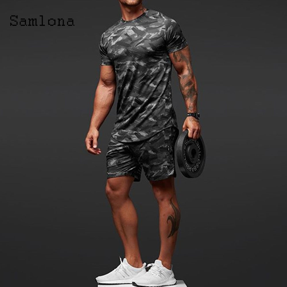 Men Shirts summer sets fashion