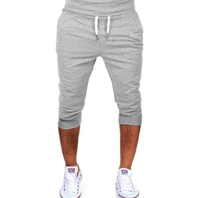 New Fashion Men Casual Sweatpants Shorts