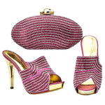 Italian Matching Shoes and Bag Set