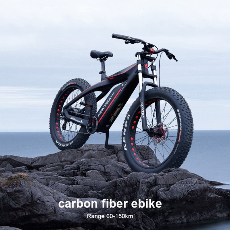 Fiber Electric Snow Bicycle
