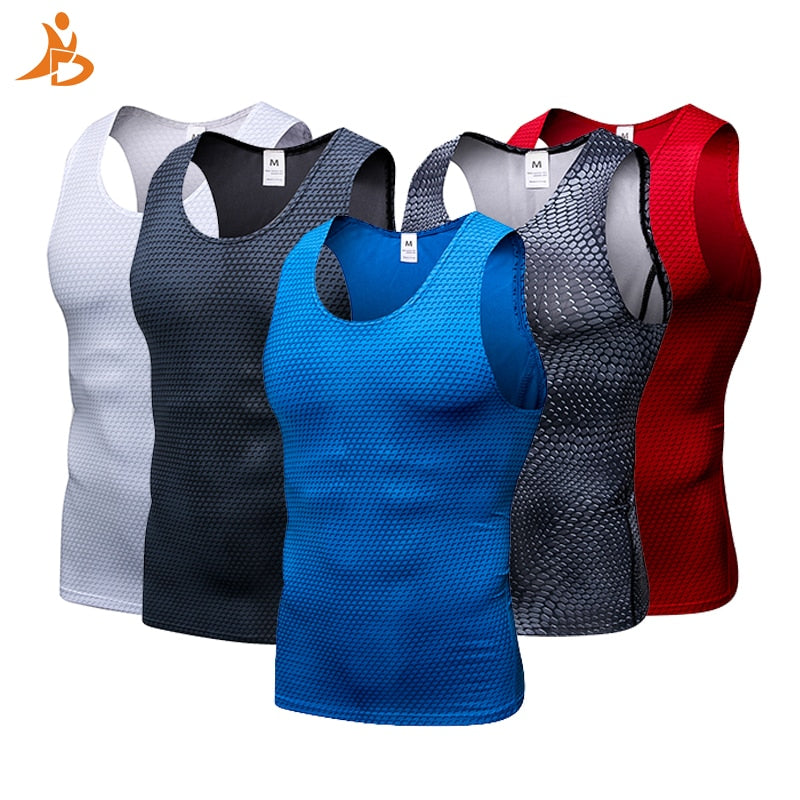 Compression Fitness Tights Tank Top