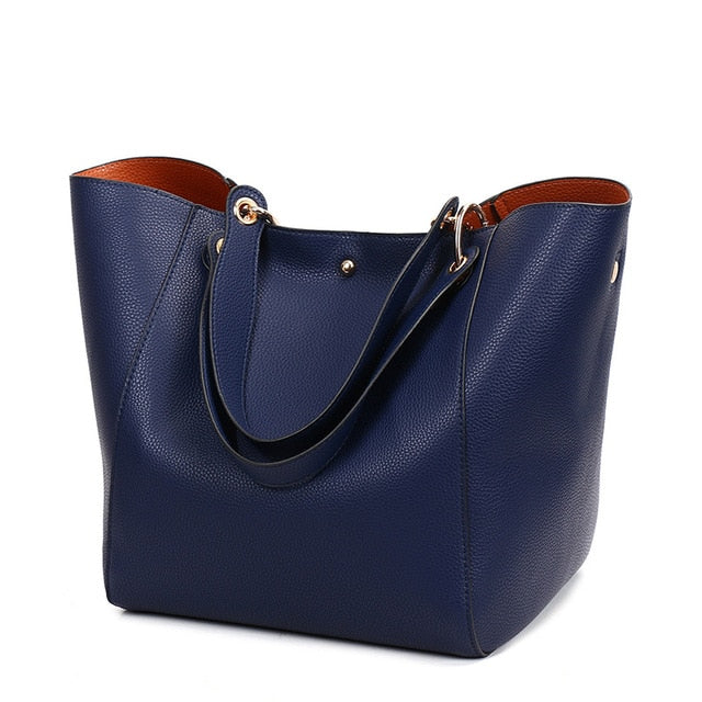 Luxury Women Leather Shoulder Bags