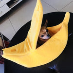 Pet Cat Banana Bed Dog House (Pets not for Sale)