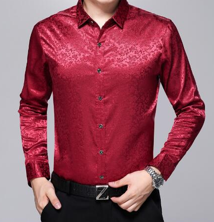 Silk Long Sleeve Shirts