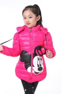 Winter Autumn Hooded Coats Cartoon Jacket